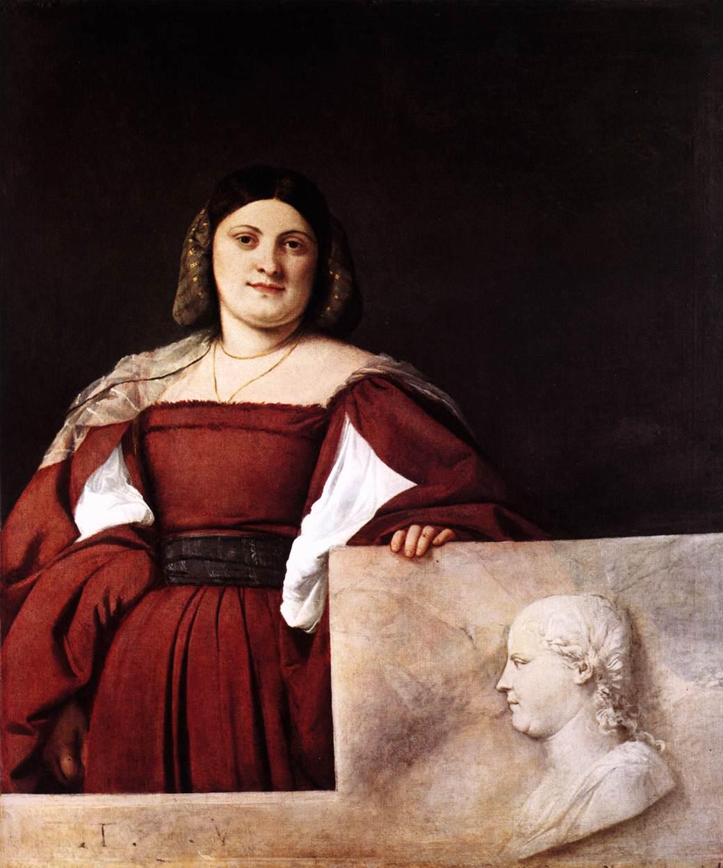 Портрет славянки 1508 1510 холст масло